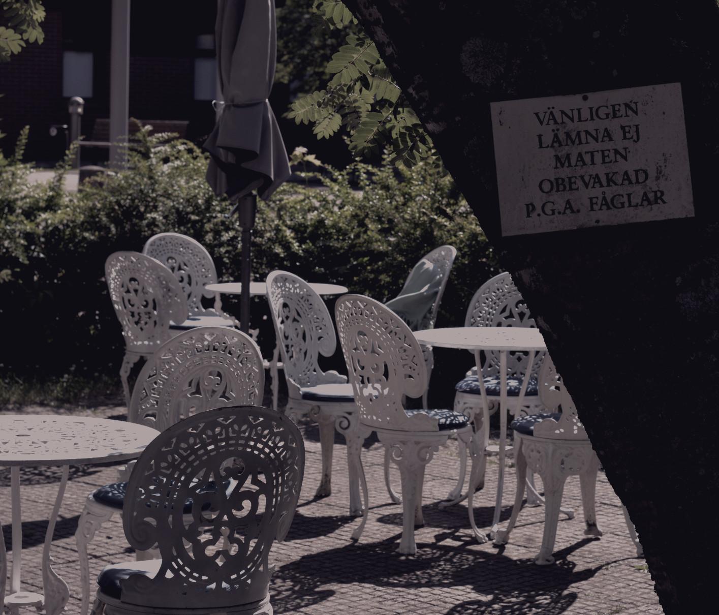Svarta Katten café Mariehamn Åland