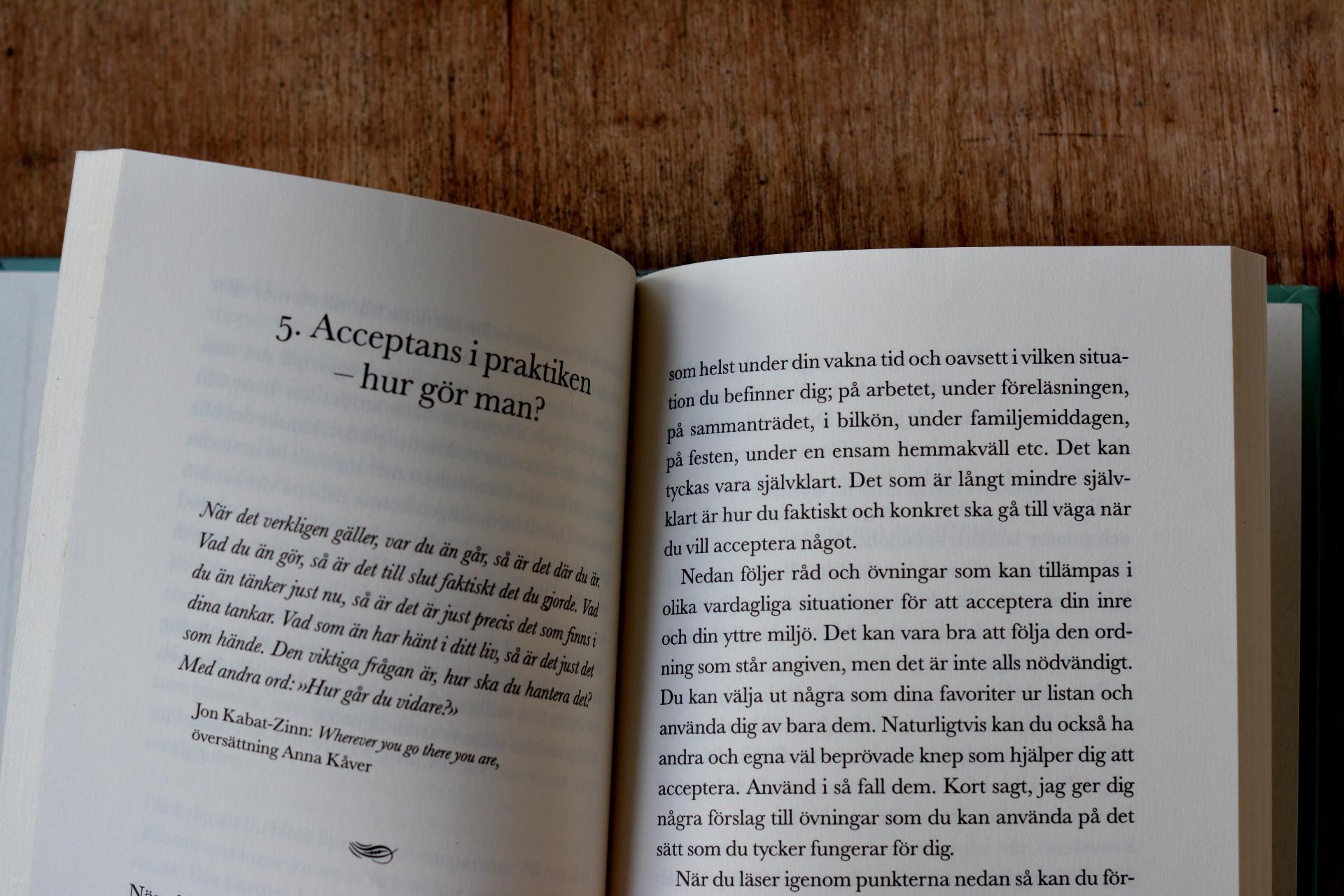 Att leva ett liv, inte vinna ett krig av Anna Kåver
