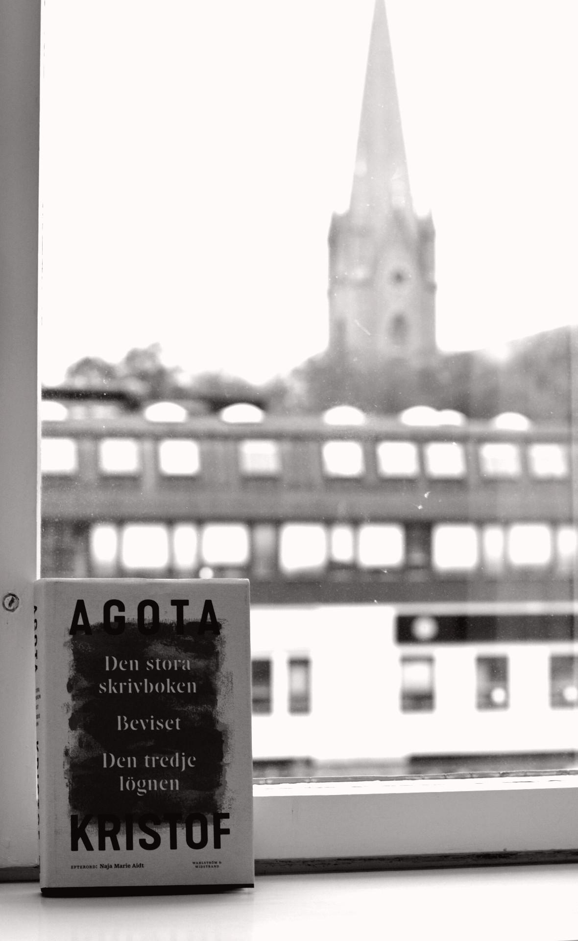 Den stora skrivboken-trilogin av Agota Kristof: Den stora skrivboken, Beviset och Den tredje lögnen