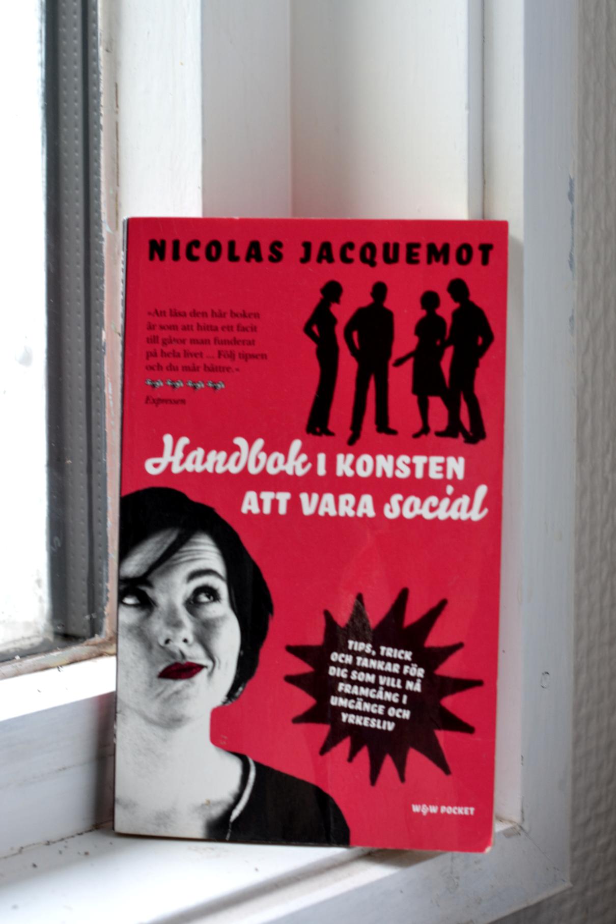 Handbok i konsten att vara social av Nicolas Jacquemot