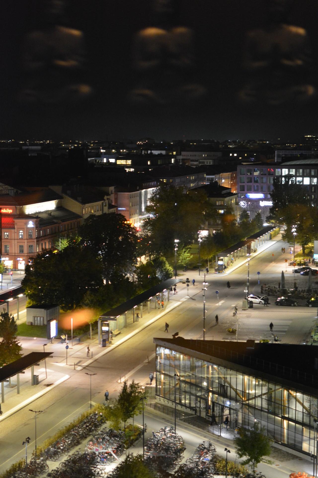 Utsikt från Miss Voon, Uppsala