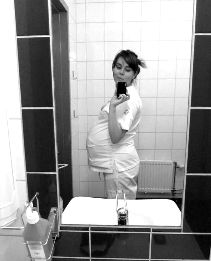 gravid läkarstudent